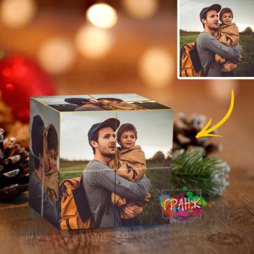 Фотокубик трансформер, купить в подарок Шимкент